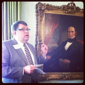DiPhi's Willie Person Mangum Portrait is discussed by Carolina Inn Historian Dr. Ken Zogry